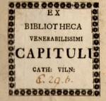 Vilniaus kapitulos biblioteka_2